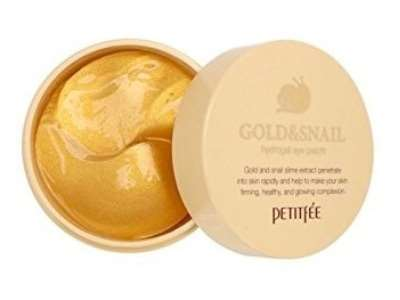 Патчи для глаз Petitfee Hydro Gel Eye Patch Gold & Snail