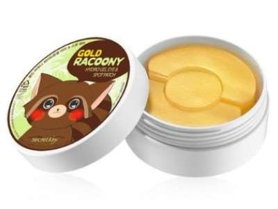 Патчи для глаз Gold Racoony Hydrogel Eye & Spot Patch